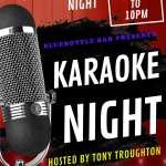 Karaoke Thursdays 7pm to 11pm